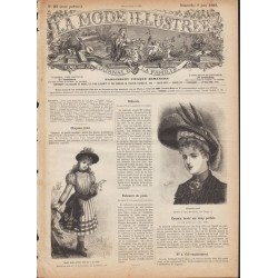 Revue complète de La Mode Illustrée 1889 N°23
