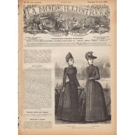 Revue complète de La Mode Illustrée 1889 N°33
