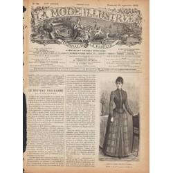 Revue complète de La Mode Illustrée 1889 N°38