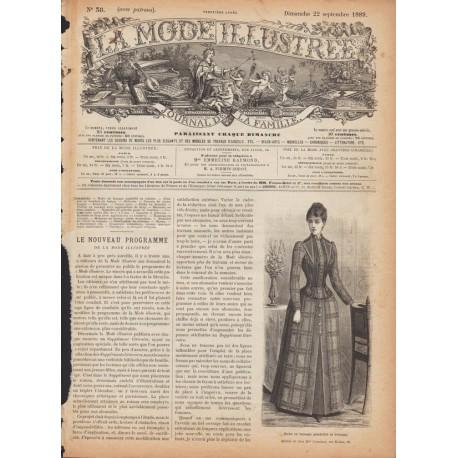 Complete magazine La Mode Illustrée 1889 N°38