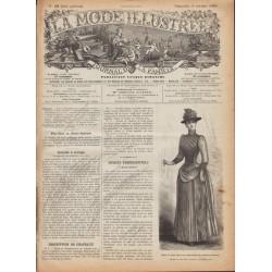 Complete magazine La Mode Illustrée 1889 N°40