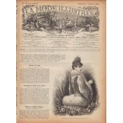 Complete magazine La Mode Illustrée 1889 N°49