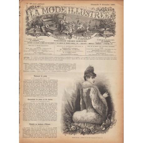 Revue complète de La Mode Illustrée 1889 N°49
