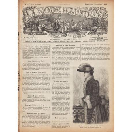 Complete magazine La Mode Illustrée 1889 N°42