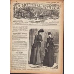 Revue complète de La Mode Illustrée 1889 N°47