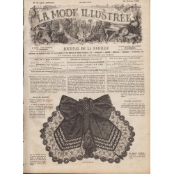 Revue complète de La Mode Illustrée 1861 N°09
