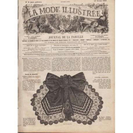 Complete magazine La Mode Illustrée 1861 N°09