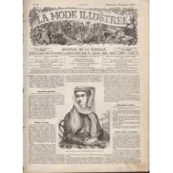 Revue complète de La Mode Illustrée 1867 N°02