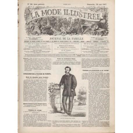 Revue complète de La Mode Illustrée 1867 N°21