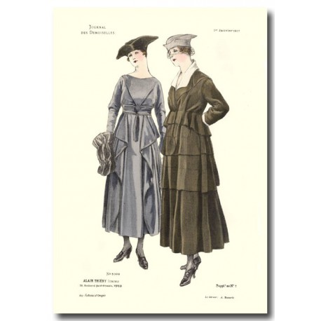 French fashion plates 1917 5399