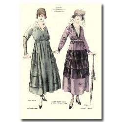 Gravure Journal des Demoiselles 1917 5404