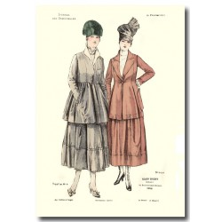French fashion plates 1917 5406