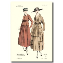 French fashion plates 1917 5408