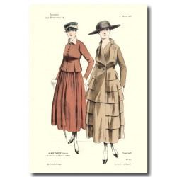 Gravure Journal des Demoiselles 1917 5408