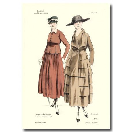 French fashion plates 1917 5408