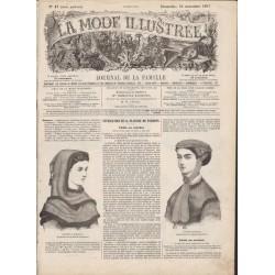 Revue complète de La Mode Illustrée 1867 N°47