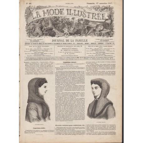 Revue complète de La Mode Illustrée 1867 N°46