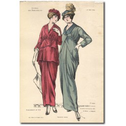 French fashion plates 1914 5261