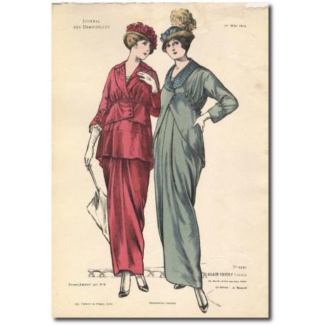 French fashion plates 1914 5261