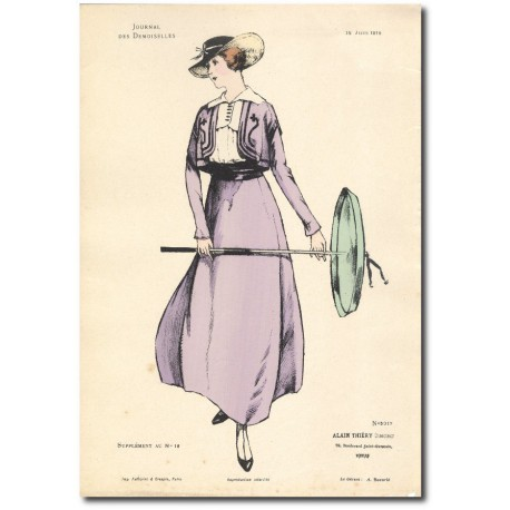 French fashion plates 1915 5317