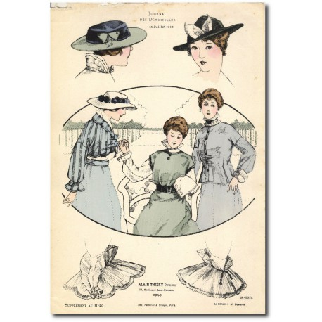 French fashion plates 1915 5324