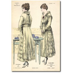 Gravure Journal des Demoiselles 1915 5327b
