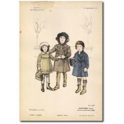 Gravure Journal des Demoiselles 1915 5333