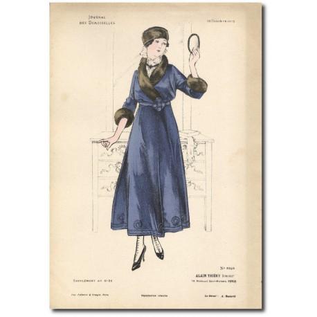 Gravure Journal des Demoiselles 1915 5335