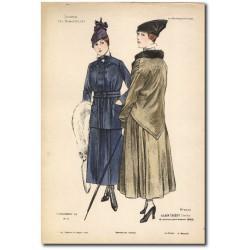 Gravure Journal des Demoiselles 1915 5339