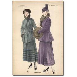Gravure Journal des Demoiselles 1915 5342