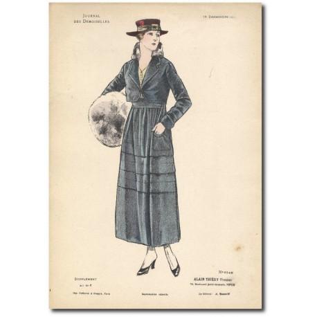 Gravure Journal des Demoiselles 1915 5345