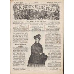 Complete magazine La Mode Illustrée 1867 N°49