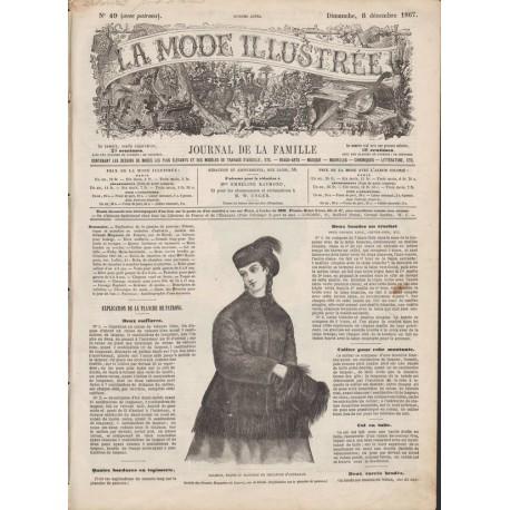 Revue complète de La Mode Illustrée 1867 N°49