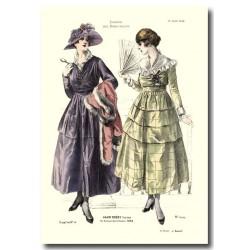 Gravure Journal des Demoiselles 1916 5370