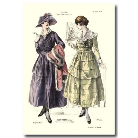 French fashion plates 1916 5370