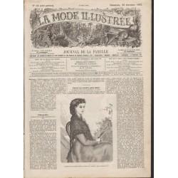 Complete magazine La Mode Illustrée 1867 N°51