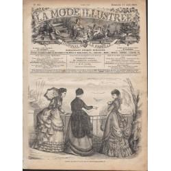 Revue complète de La Mode Illustrée 1869 N°15
