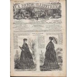 Complete magazine La Mode Illustrée 1869 N°23