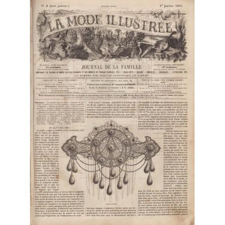 Revue complète de La Mode Illustrée 1861 N°01