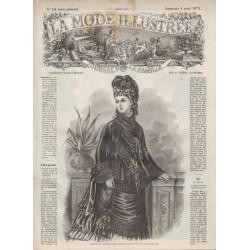 Complete magazine La Mode Illustrée 1875 N°14