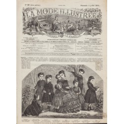 Revue complète de La Mode Illustrée 1875 N°27