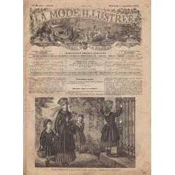 Complete magazine La Mode Illustrée 1875 N°36