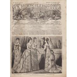 Complete magazine La Mode Illustrée 1875 N°51