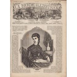 Complete magazine La Mode Illustrée 1869 N°42