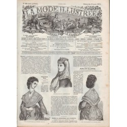 Revue complète de La Mode Illustrée 1871 N°26