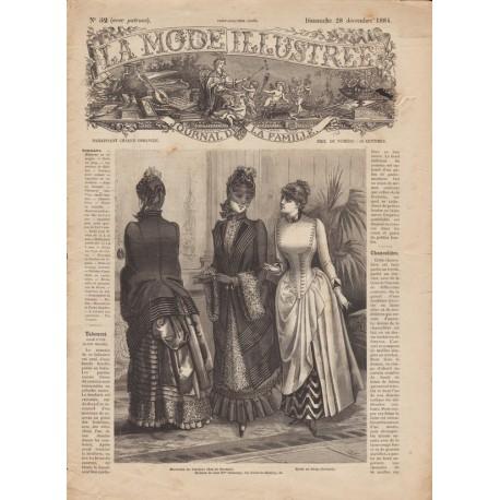 Complete magazine La Mode Illustrée 1884 N°52