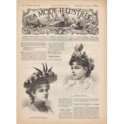 Complete magazine La Mode Illustrée 1894 N°35