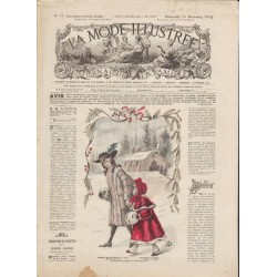 Revue complète de La Mode Illustrée 1904 N°51