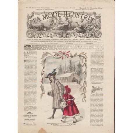 Complete magazine La Mode Illustrée 1904 N°51