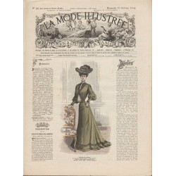 Revue complète de La Mode Illustrée 1904 N°44